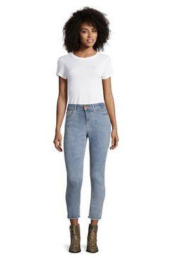 cartoon slim fit jeans »figurbetont« blauw