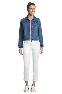 betty barclay jeansjack »mit ringelbuendchen« blauw