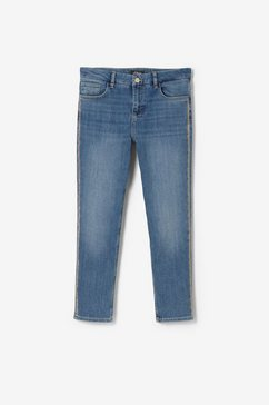 s.oliver black label sienna slim: blue jeans blauw