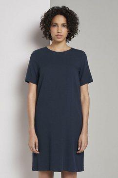 tom tailor mine to five zomerjurk »kleid mit paspelstreifen« blauw