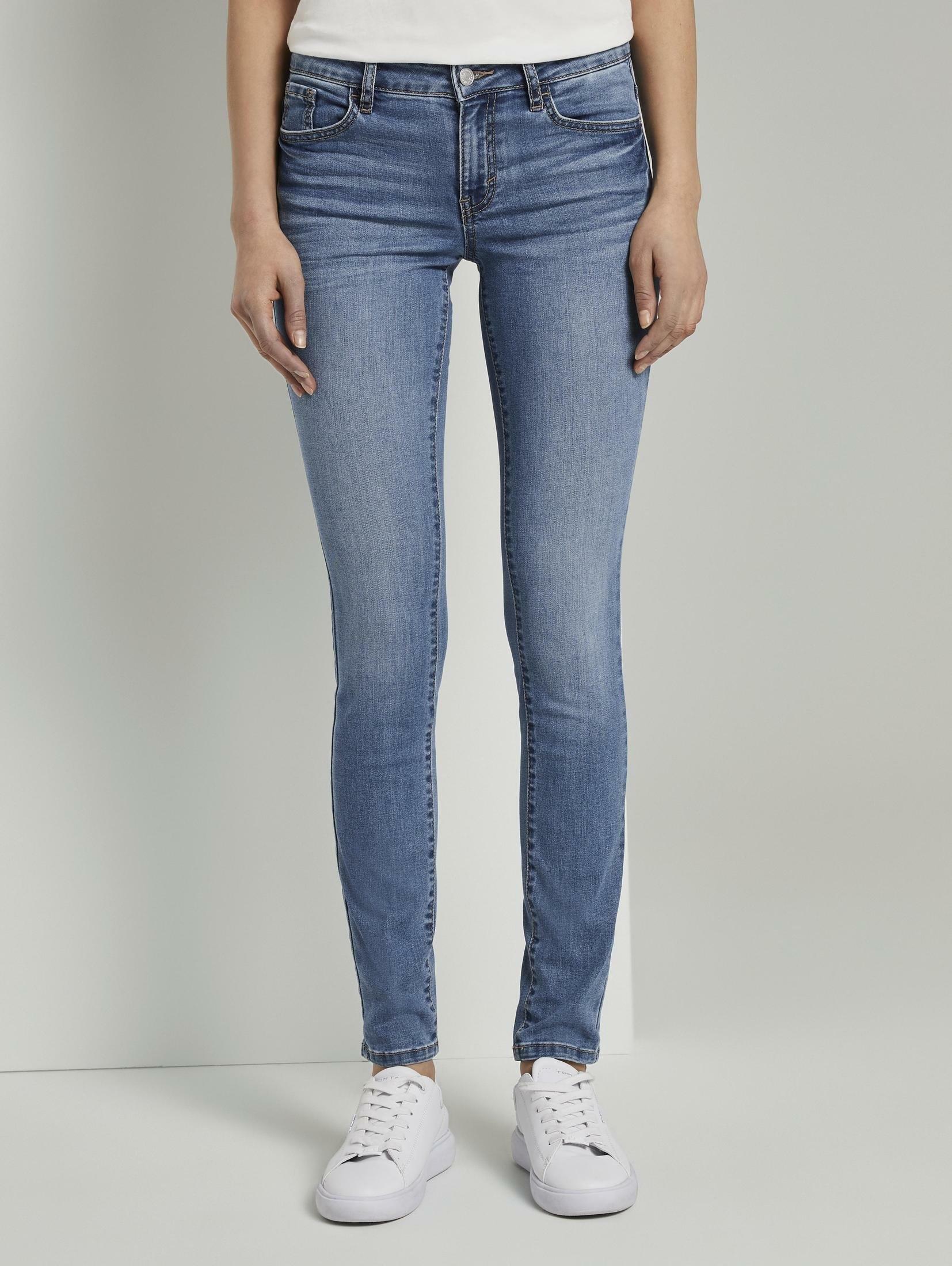 TOM TAILOR slim fit jeans »Alexa Slim Jeans« - gratis ruilen op otto.nl