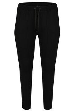 frapp sportieve broek in unikleurig design zwart