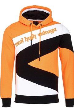 rusty neal pullover oranje