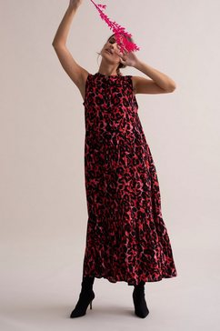 kaffe maxi-jurk »kaleondra shirt« rood
