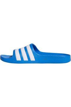 adidas performance badslippers »adilette aqua k« blauw