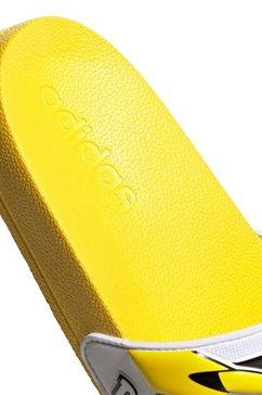 adidas performance badslippers »adilette shower k pokémon« geel