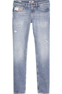 tommy jeans slim fit jeans »scanton slim phlbcfd« blauw
