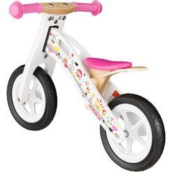 "bikestar loopfiets ""holz"", 10 inch wit"