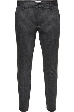 only  sons chino-broek »mark pant« grijs
