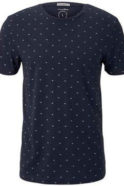 tom tailor denim t-shirt blauw