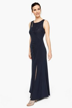 s.oliver black label maxi-jurk blauw