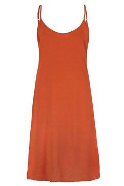 eight2nine jurk in a-lijn oranje