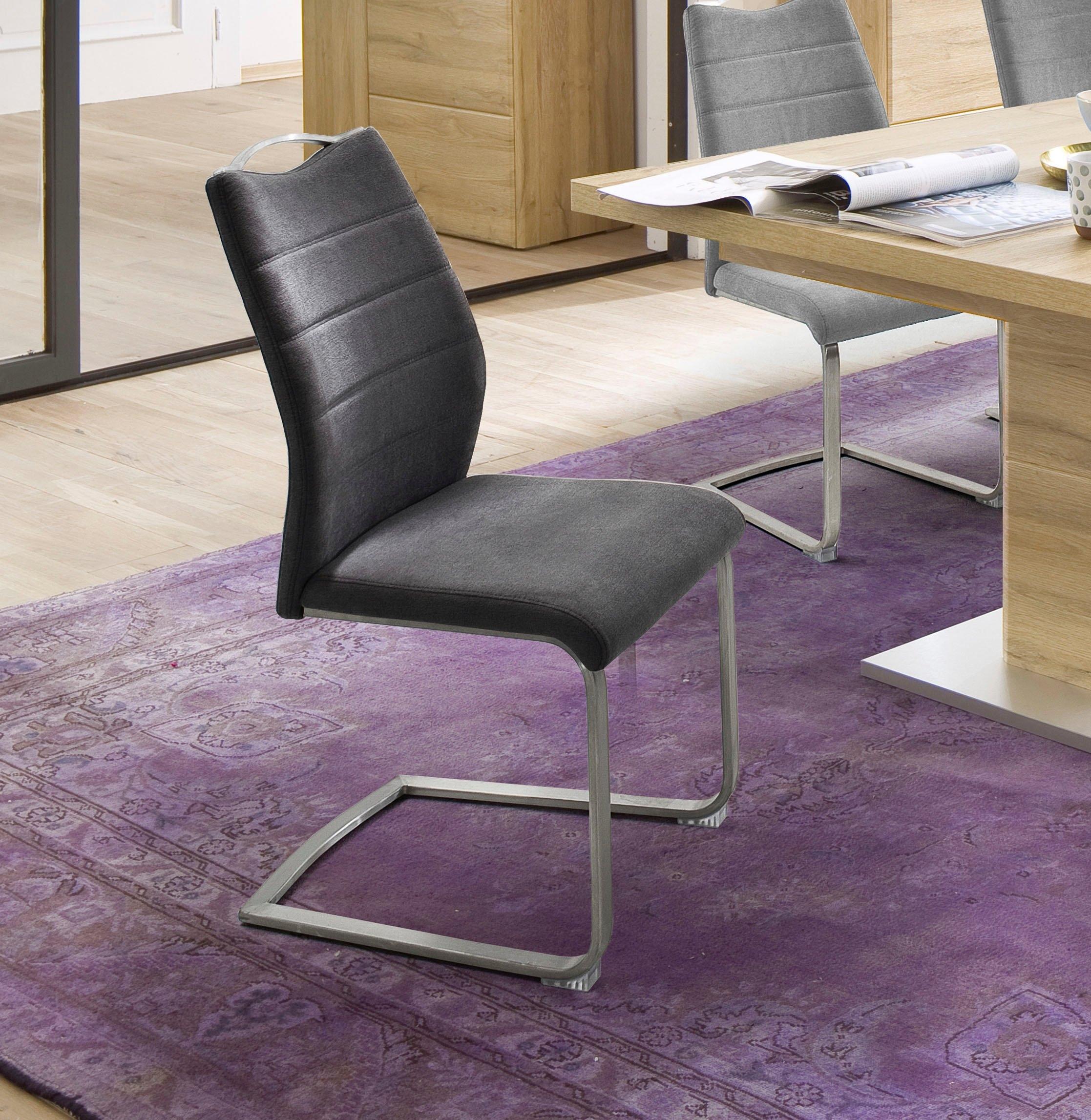 MCA furniture vrijdragende stoel Ferrera Stoel belastbaar tot 140 Kg (set, 2 stuks) nu online kopen bij OTTO