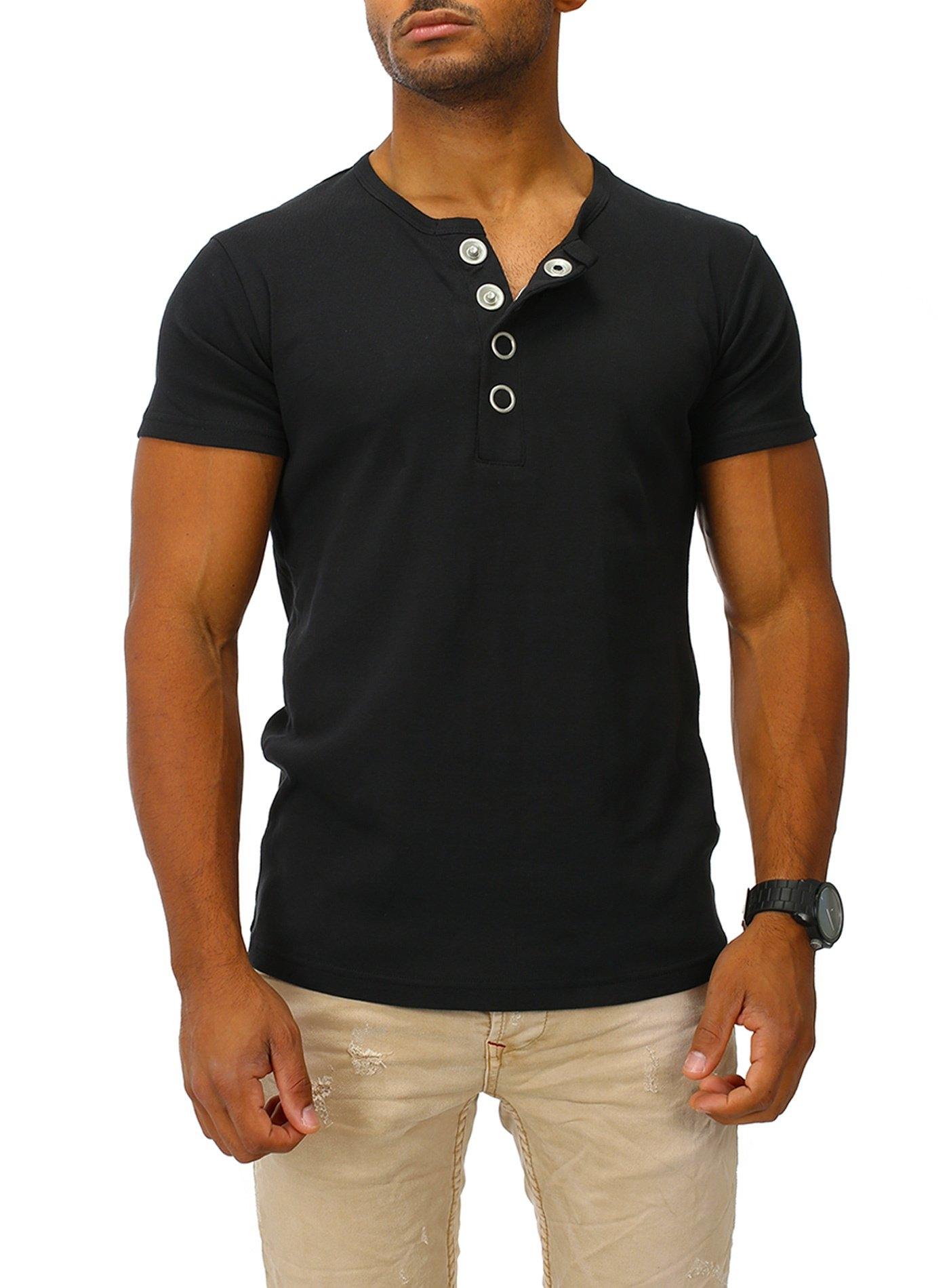 Joe Franks T-shirt »Big Button« - verschillende betaalmethodes