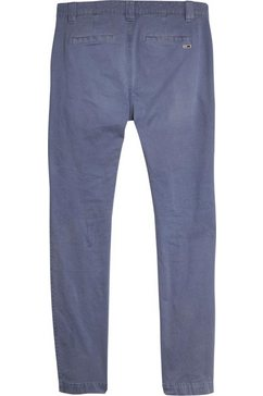 tommy jeans chino »tjm scanton ditsy pattern pant« blauw