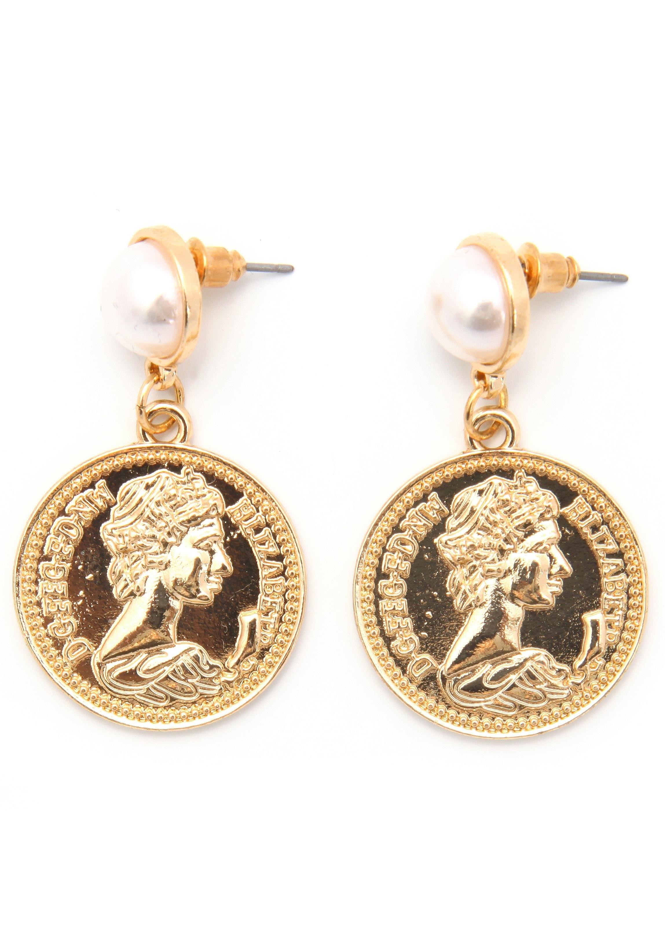 Op zoek naar een J JAYZ oorstekers »Coins, rund, vergoldet«? Koop online bij OTTO
