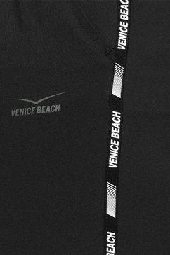 venice beach driekwartbroek zwart