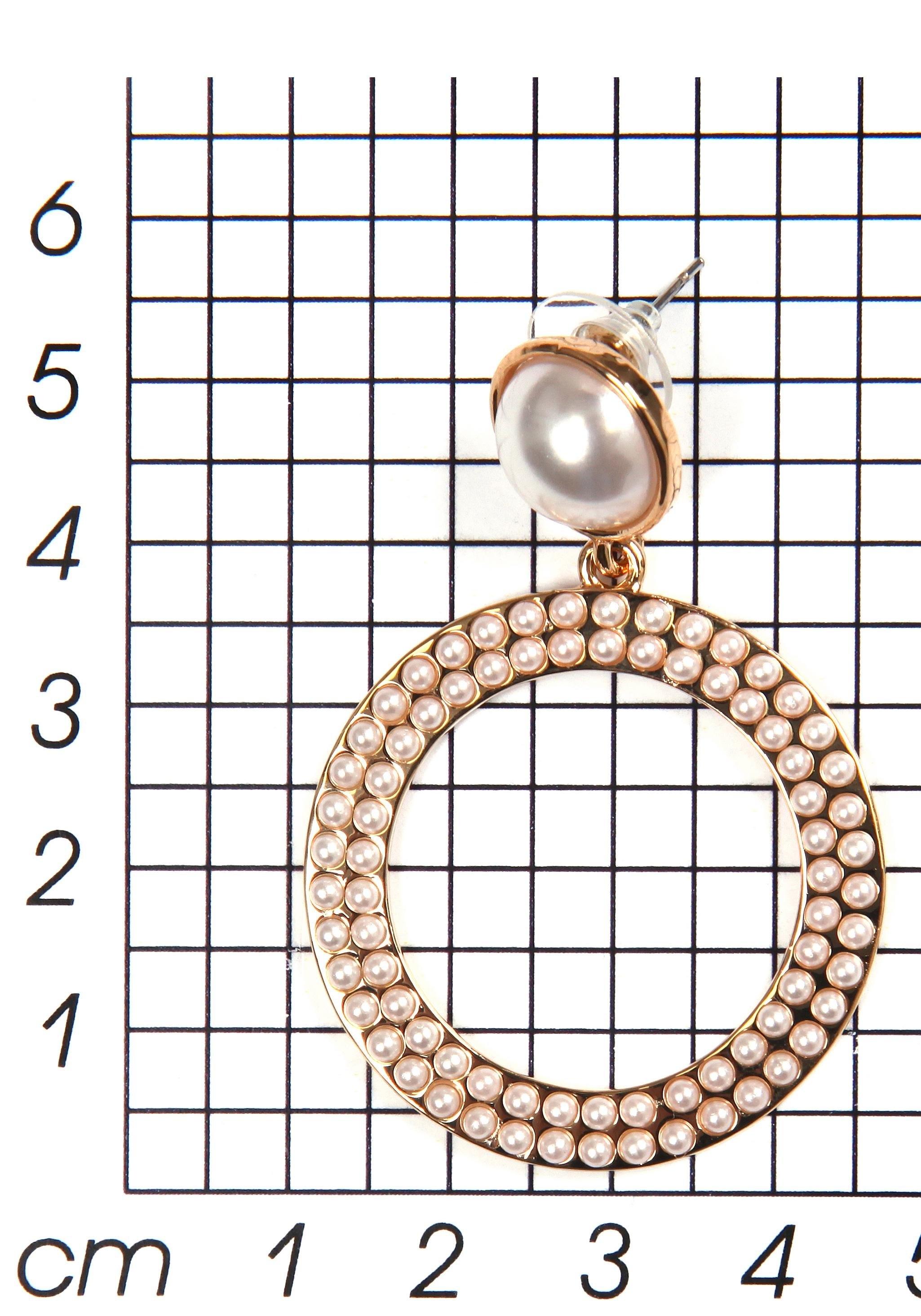 J JAYZ oorstekers »mit Kreisen, elegant, vergoldet« voordelig en veilig online kopen
