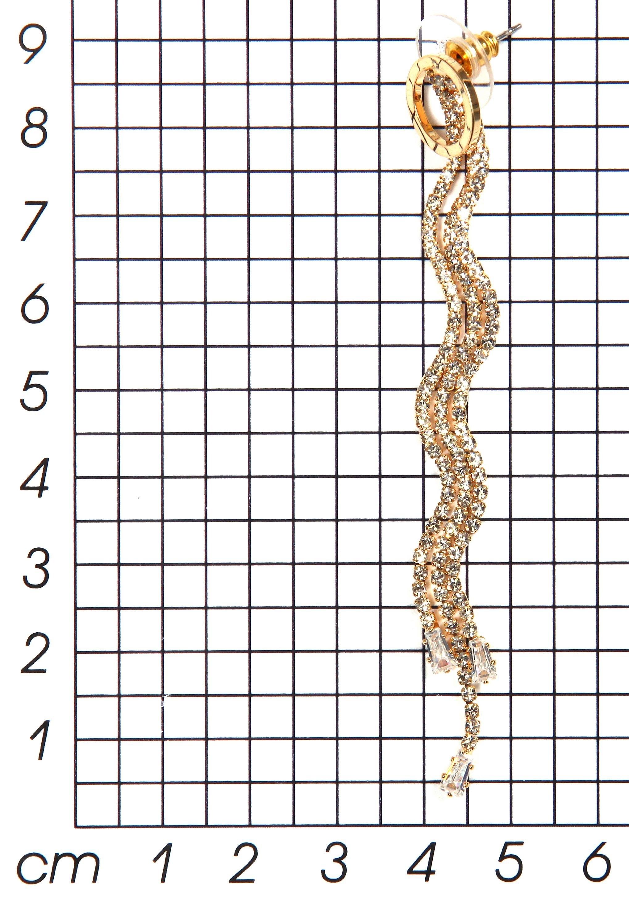 J JAYZ oorstekers »mit 3 langen Metall-Schnüren, filigran« in de webshop van OTTO kopen