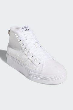adidas originals sneakers »nizza platform mid« wit