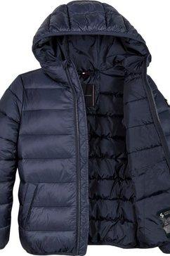 tommy hilfiger gewatteerde jas »essential padded jacket« blauw