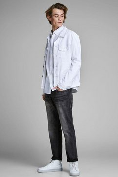 jack  jones comfort fit jeans »mike« grijs