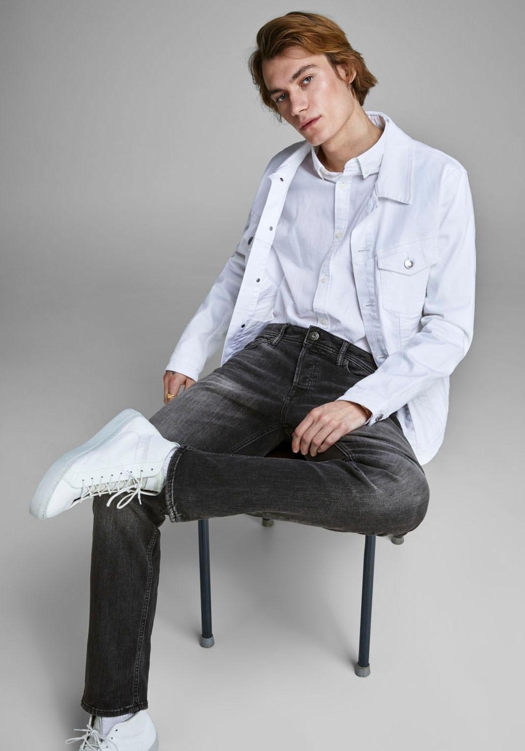 Jack & Jones comfort fit jeans »MIKE« in de webshop van OTTO kopen