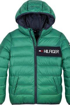 tommy hilfiger gewatteerde jas »essential padded jacket« groen