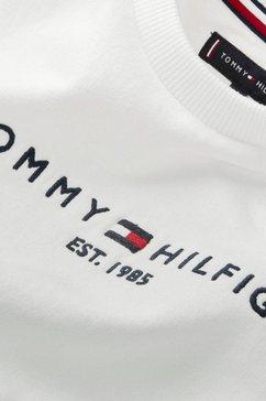 tommy hilfiger sweatshirt »essential cn sweatshirt« wit