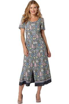 classic inspirationen jurk in a-lijn grijs