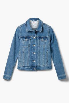 s.oliver jeansjack blauw