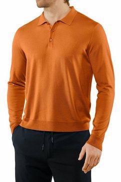 falke shirt met lange mouwen »langarmshirt« oranje