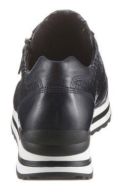 gabor sneakers met sleehak blauw