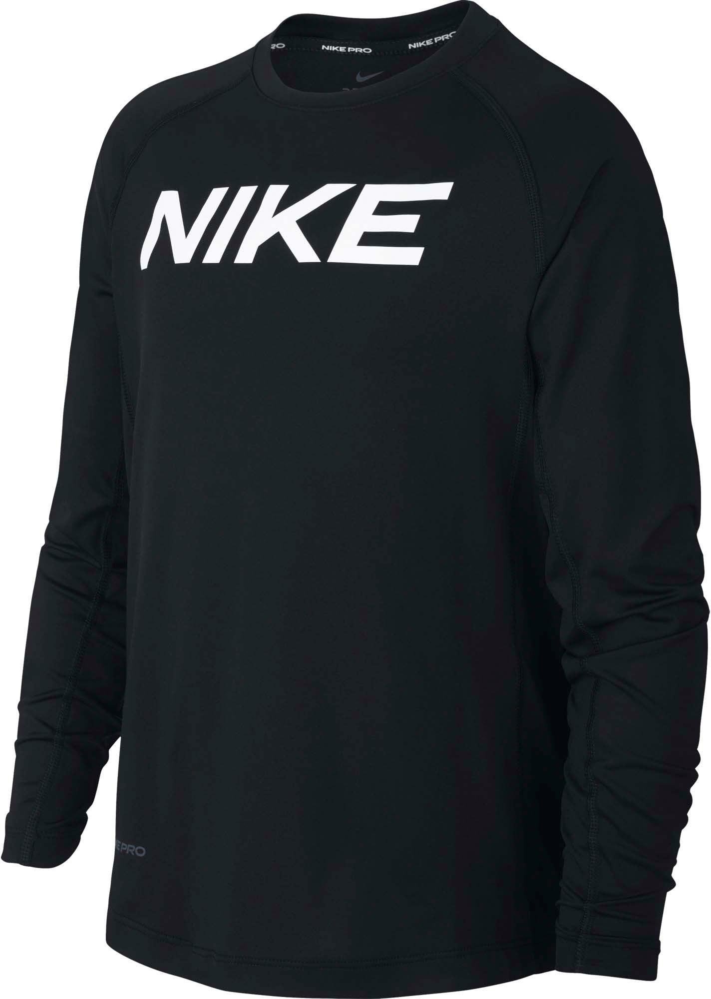 Nike functioneel shirt »BOYS LONGSLEEVE FITTED TOP« in de webshop van OTTO kopen