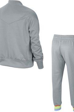nike joggingpak »girls nike sportswear heritage track suit« grijs