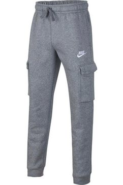 nike sportswear cargobroek boys club cargo pant grijs