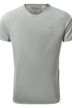craghoppers t-shirt »herren nosilife baselayer-, kurzaermlig« grijs