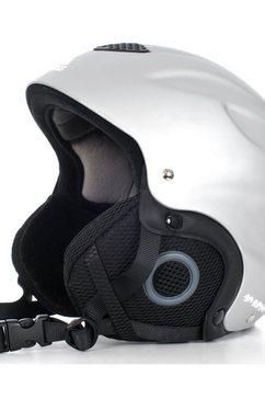 trespass hoofdbeschermer »unisex burlin ski-helm - wintersport-helm voor kinderen« zilver
