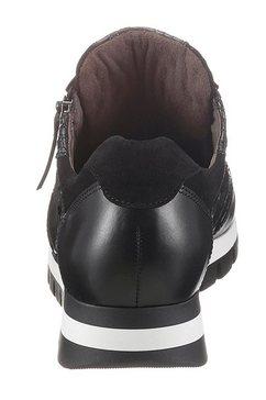 gabor sneakers met sleehak zwart