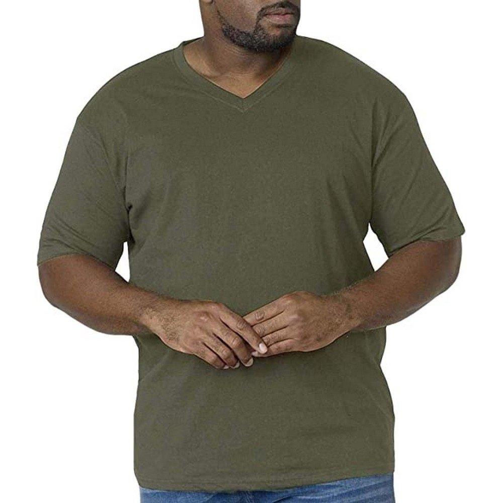 Duke Clothing T-shirt »Herren Signature 2 mit V-Ausschnitt, King Size, Baumwolle« veilig op otto.nl kopen