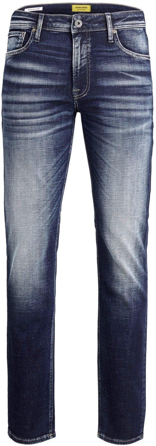 Jack & Jones regular fit jeans Clark - gratis ruilen op otto.nl