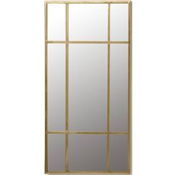 leonique wandspiegel stella (1 stuk) goud