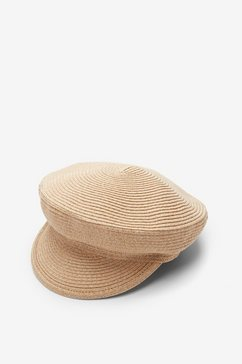 s.oliver cap van papier bruin
