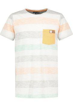 eight2nine shirt met ronde hals oranje