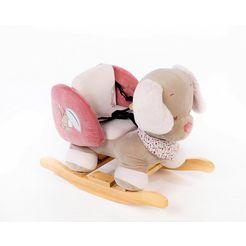 nattou schommeldier roze
