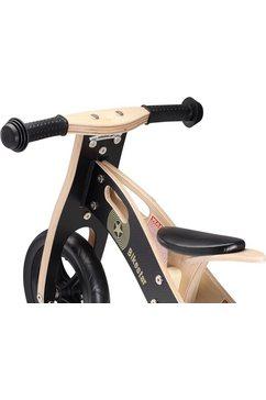 """bikestar loopfiets """"holz"""", 10 inch zwart"""