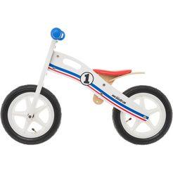 "bikestar loopfiets ""holz"", 12 inch wit"
