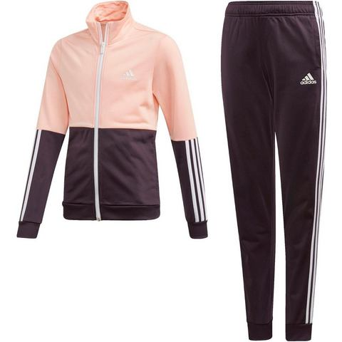 NU 20% KORTING: adidas Performance trainingspak GIRLS TRACKSUIT