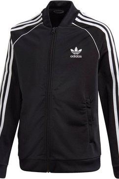 adidas originals trainingsjack »superstar tracktop« zwart