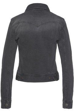 herrlicher jeansjack »joplin« zwart